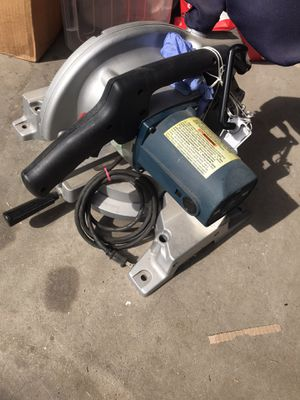 Harbor freight 10 inch compound miter saw for Sale in San Diego, CA