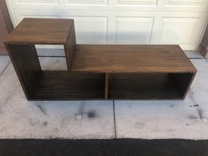 Solid Wood Shelf/ Tv Stand for Sale in Glendale, AZ