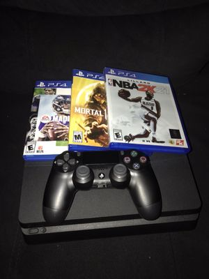 PS4 1TB & NEW GAMES JUST LOST RECEIPT for Sale in Oxon Hill, MD