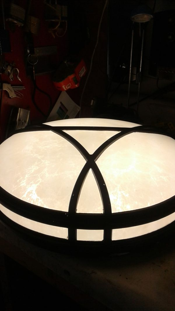 New Flourescent Overhead Light