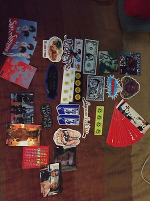 45 authentic supreme stickers for Sale in Cary, NC