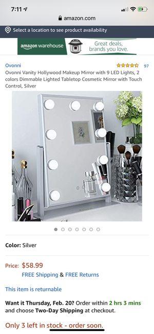 Led mirror for Sale in Cincinnati, OH