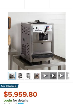 USED IN EXCELLENT WORKING CONDITION: Spaceman 6220 Soft Serve Ice Cream Machine with 1 Hopper - 110V for Sale in Miami, FL