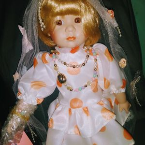 Beautiful Doll Vintage Never Been Opened Only To Take This Picture She Is Still Wrapped Up for Sale in Oak Lawn, IL