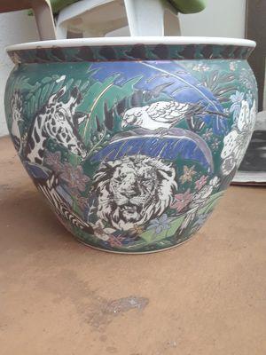 porcelain flower pot for Sale in Palm Harbor, FL