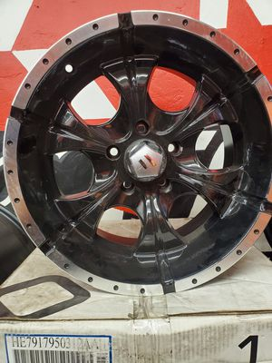 17x9 HELO 5x127 WHEELS AND TIRES for Sale in Fresno, CA