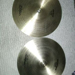 Zildjian Rock Hi Hats 14 Inch Heavy Pair Top And Bottom Loud for Sale in Valley Center, CA