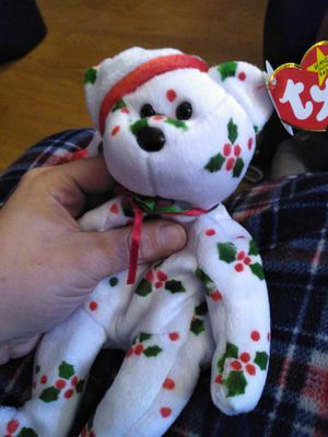 Retired ty holiday teddy for Sale in Lino Lakes, MN