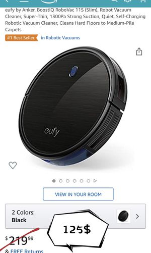 eufy robot vacuum cleaner brand new for Sale in Rowland Heights, CA