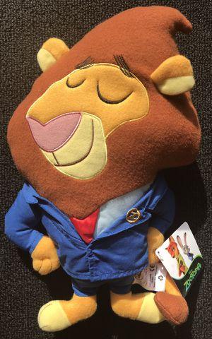 New Zootopia Mayor Lionheart stuffed animal for Sale in Royal Oak, MI