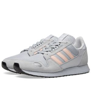 NEW Adidas ZX 452 SPZL Clear Grey Haze Coral Men's Size 9 for Sale in Norwalk, CA