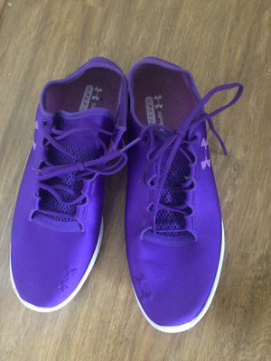 Womens Under Armour Speedform Purple Shoes Size 9.5 for Sale in MONTGOMRY VLG, MD