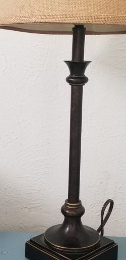 🏡🏡🏡METAL Table lamp♥️👉($10.00)👈♥️ for Sale in Fort Worth,  TX