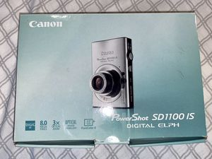 Canon IXUS 80 IS 8.0MP Digital Camera color Silver for Sale in Washington, DC