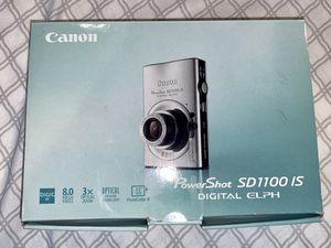Canon IXUS 80 IS 8.0MP Digital Camera color Silver for Sale in Washington, DC