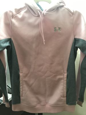Pink & Grey Under Armour XS Hoodie for Sale in Dallas, TX