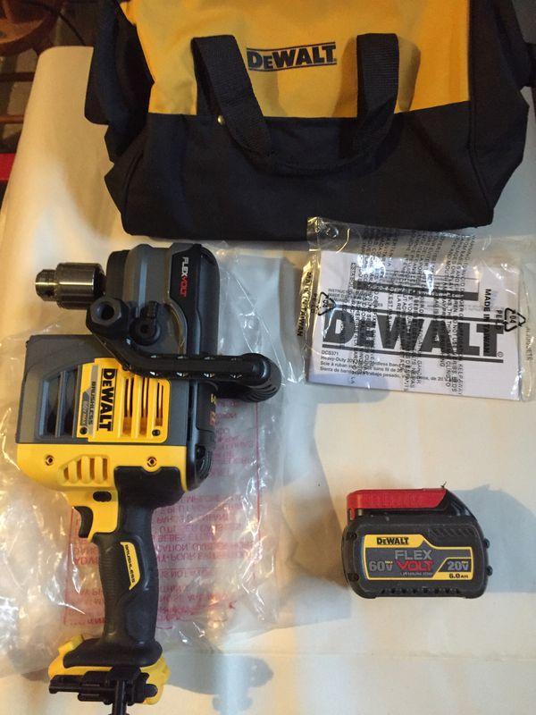 Dewalt hoist drill flex volt
