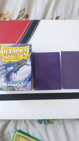 Dragon Shield Purple Sleeves for Sale in El Monte, CA