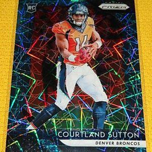 Denver Broncos Courtland Sutton Rookie Card for Sale in Joliet, IL