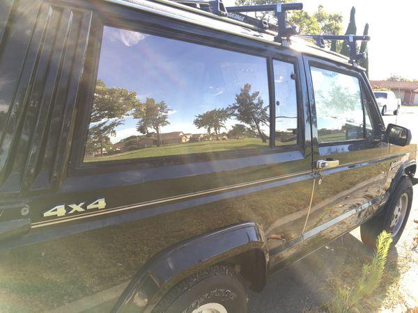 87 Jeep XJ 4wd 4.0L Straight 6 and 5 speed manual