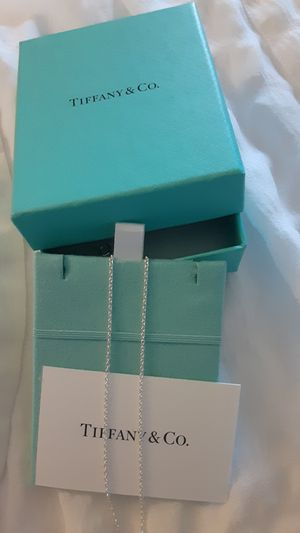TIFFANY & CO NECKLACE for Sale in Kennewick, WA