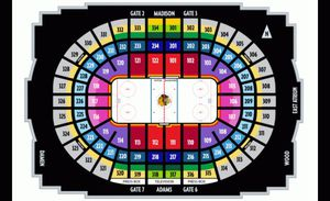 Chicago Blackhawks tickets at Face Value - NO EXTRA FEES for Sale in Darien, IL