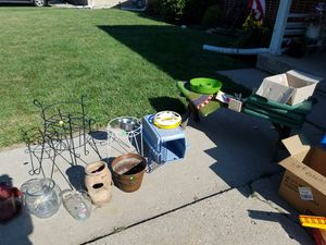Misc. Garden and pet items for Sale in Elk Grove Village, IL