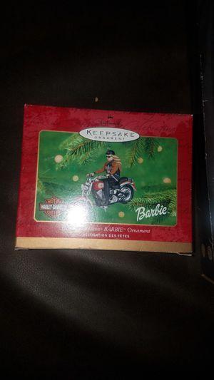 Harley Davidson Barbie Christmas Ornament for Sale in Littleton, CO