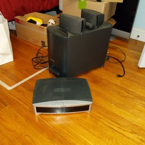 Bose 321 Series II CD DVD Complete Home Entertainment Speaker System for Sale in San Lorenzo, CA