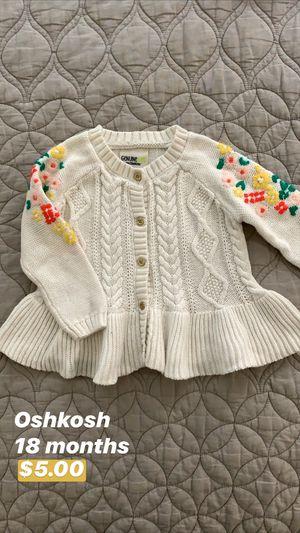 Oshkosh Baby Sweater for Sale in Seattle, WA
