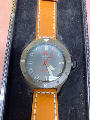 Baldieri Carbon Magnum M-48 Limited Edition Automatic Watch for Sale in Tacoma, WA