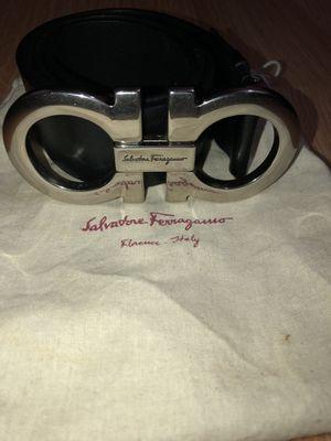 Salvatore Ferragamo Double Gancini Leather Belt for Sale in Silver Spring, MD