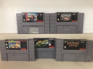 Super Nintendo Game Bundle for Sale in Brookfield, IL