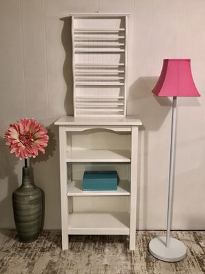 Storage shelves and lamp for Sale in Chicago, IL