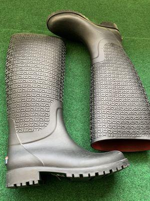 TOMMY HILFIGER rain boots WOMEN's 9.5 for Sale in Seattle, WA