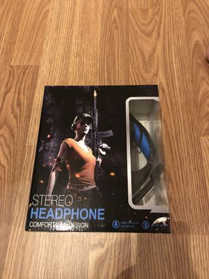 Brand New Gaming Headset for Fortnite PS4, PC, Xbox One Controller, Noise Cancelling Over Ear Headphones with Mic, LED Light, Bass Surround for Sale in Reynoldsburg, OH