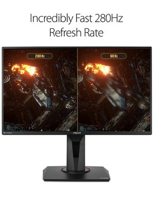 "ASUS TUF Gaming VG259QM 24.5"" Monitor, 1080P Full HD (1920 x 1080), Fast IPS, 280Hz, G-SYNC Compatible, Extreme Low Motion Blur Sync,1ms, DisplayHDR for Sale in Orlando, FL"