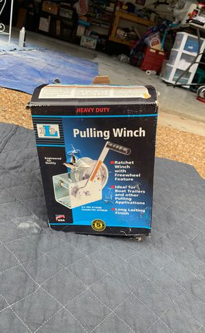 DL2500A pulling winch for Sale in Nolensville, TN