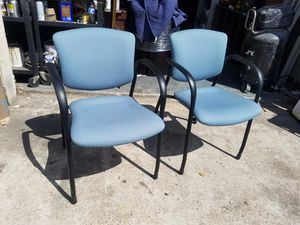 Guest chairs $40 (good condition) for Sale in Houston, TX