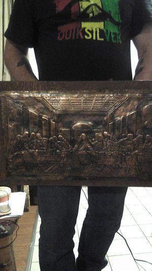 Last supper bronze plaque for Sale in Auburn, WA