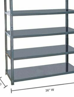 Steel Shelving Unit in Gray for Sale in West Covina,  CA