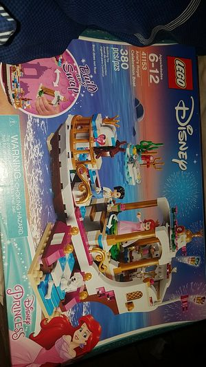 Lego disney set 41153 Ariels Royal Celebration Boat NEW for Sale in Lakewood, WA