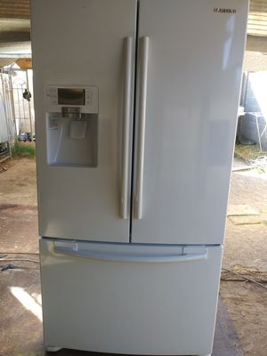 White samsung french door FREE DELIVERY for Sale in Tempe, AZ