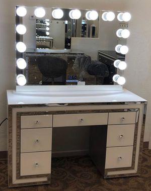 Vanity with Bluetooth mirror 🔊 NEW for Sale in Phoenix, AZ