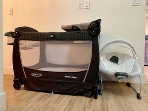 Graco pack and play travel set Like New for Sale in Paradise Valley, AZ