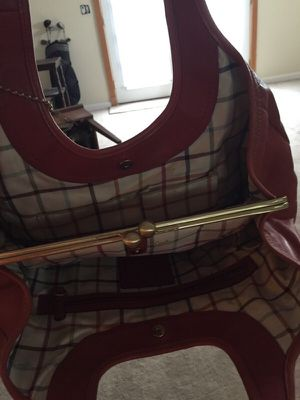 Coach Bag, Orange Leather for Sale in Sunbury, OH