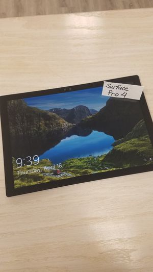 Microsoft Surface Pro 4 128GB for Sale in Seattle, WA