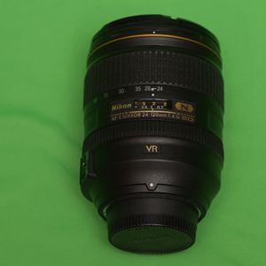 Nikon NIKKOR 24-120mm f/4 AS G SWM AF-S VR IF N M/A ED Lens for Sale in Sammamish, WA