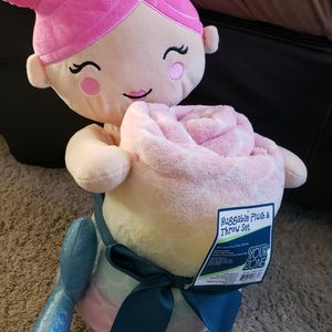 Mermaid Stuffy And Blanket for Sale in Centreville, VA