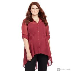 Plus Size 2X ( 18 / 20) Maternity Tunic Shirt for Sale in Glen Burnie,  MD